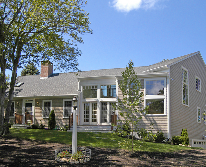 Classic cape cod addition and renovation melinda kelson for Additions to cape cod style homes